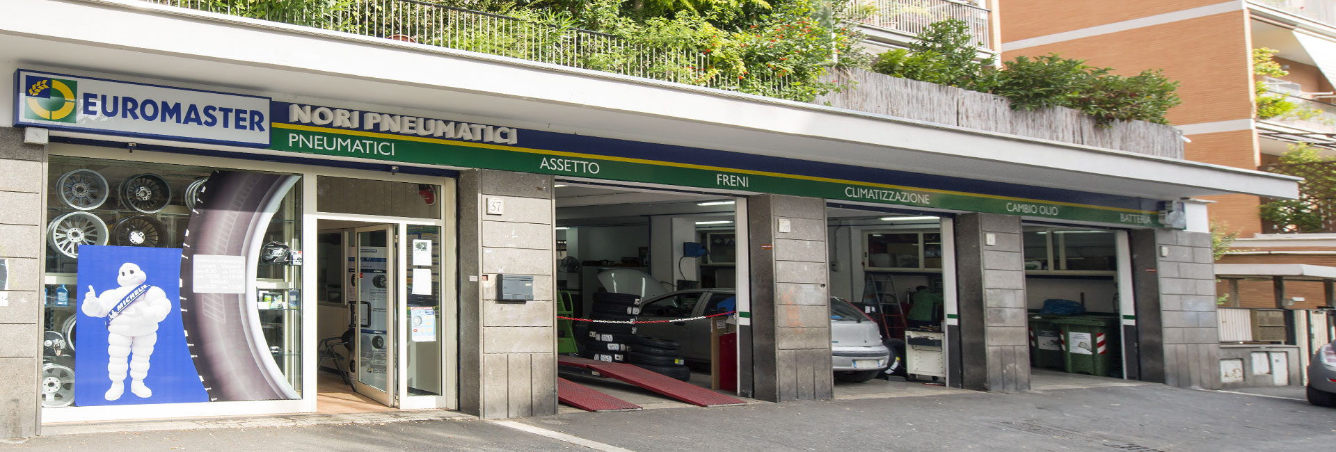 Gommista Euromaster Roma